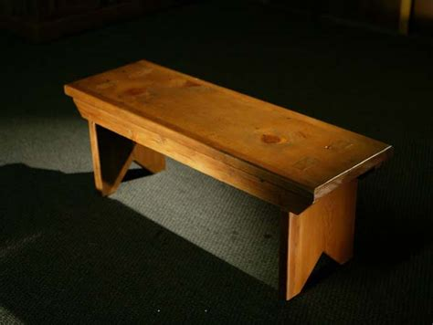 reclaimed wooden  thick plank bench lake  mountain home