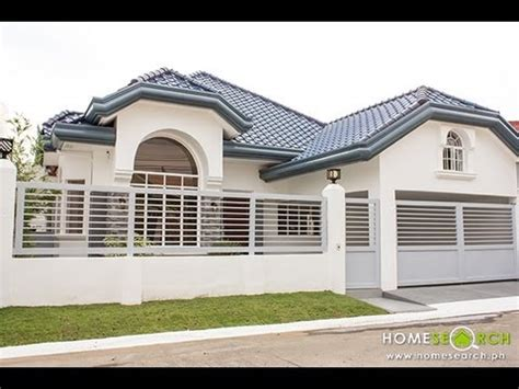 bungalow house  sale  bf homes paranaque philippines youtube
