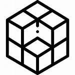 Cube Rubik Icon Icons Getdrawings Bw Shapes