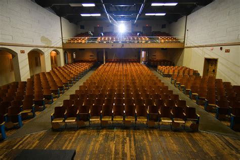 Auditorium In Len by Story Of Ethel Pope Auditorium Ghost For