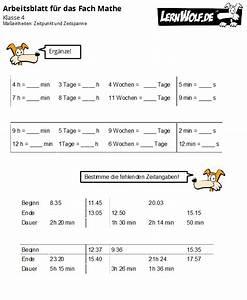 Zeitspanne Berechnen : bungen mathe klasse 4 kostenlos zum download ~ Themetempest.com Abrechnung