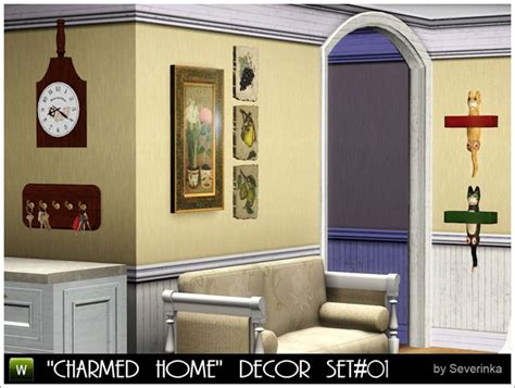Sims 3 Home Decor :  Charmed Home