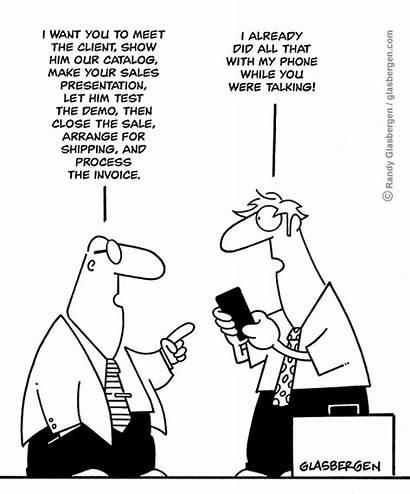 Sales Service Customer Cartoons Call Business Newsletter