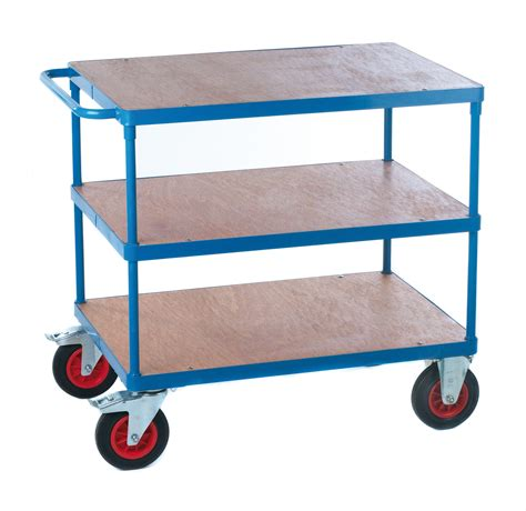 Shelf Trolley with Plywood Decking | Dalvie Systems