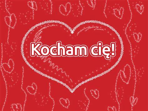 ich liebe dich polnisch grusskarte clipart gb bild grafik
