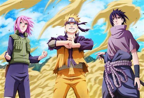 Poster Naruto Sakura Sasuke Uchiha Manga Team 7 42 X 29 Cm