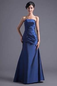 robe de soiree longue en taffetas bustier simple ornee de With robe de taffetas