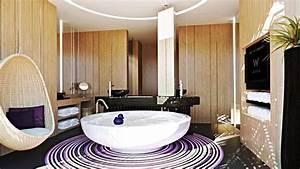 Luxury w retreat koh samui in thailand architecture design for Thai bathroom design