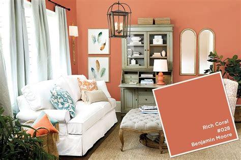 coral color room 2016 paint colors paint trends coral paint