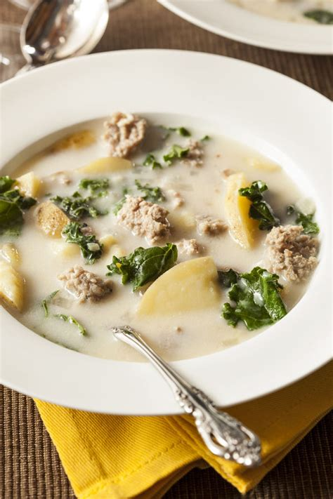 olive garden zuppa toscana you can now make your favorite olive garden soup at home