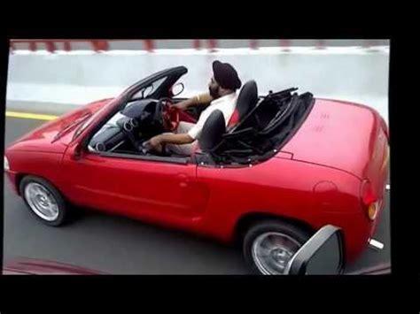 Modify Car Roof by Maruti 800 Modified Sports Convertible By Mr Jagjit Singh
