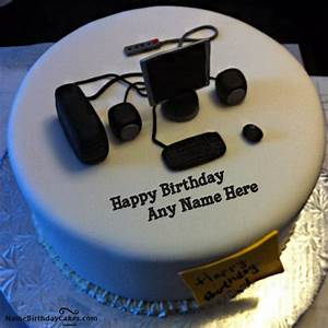 Happy Birthday Cake For IT Person With Name