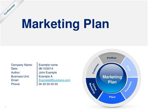 simple marketing plan template   deloitte