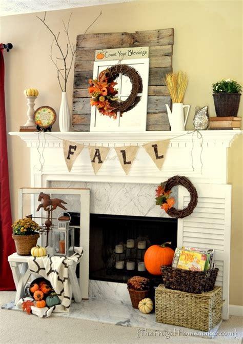 beautiful fall mantel decor ideas digsdigs