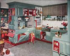 Whispered Whimsy Vintage I Will Have A RETRO KITCHEN Vintage Kitchen VINTAGE RETRO KITCHEN RE DO Cool Pink Kitchen Design With Retro And Chic Look DigsDigs