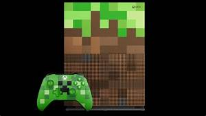 Xbox One S Minecraft Limited Edition Bundle Preorder Is