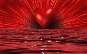 Global Pictures Gallery: Beautiful Red Heart With Love ...