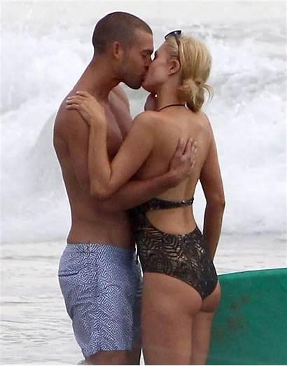 Hilton Paris Boyfriend Beach Bikini Swimsuit Kiss