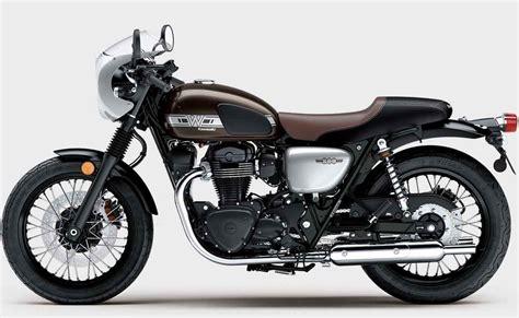 Kawasaki W800 Image by Kawasaki W800 Cafe Retro Modern Original Icon