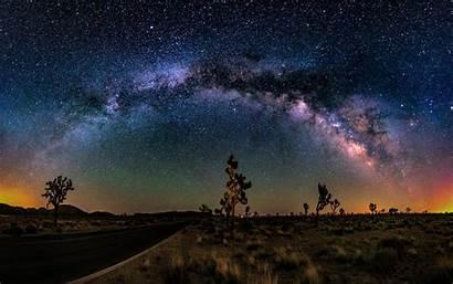 Desert Sunset Cactus Road Desktop Sky Star