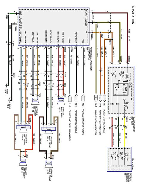 2008 E250 Starter Motor Wiring Diagram by Aux Input On 04 06 F150 With 2006 Ford Radio Wiring
