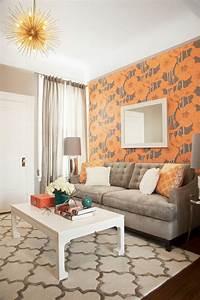 Tapeten Für Kleine Räume : 1001 wohnzimmer ideen f r kleine r ume zum entlehnen ~ Indierocktalk.com Haus und Dekorationen
