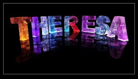 theresa   theresa   coloured lights