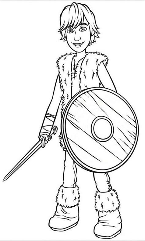 train  dragons  coloring pages hiccup