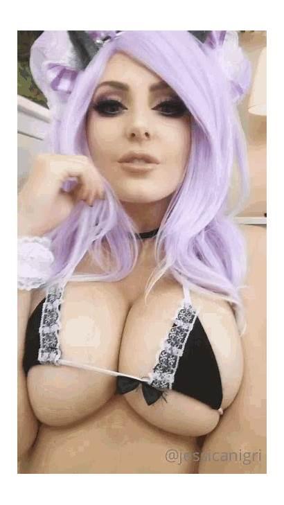 Cosplay Jessica Nigri Maid Gifs Tenor Reddit