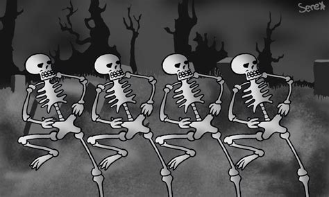 spooky scary skeletons intro movierequested super