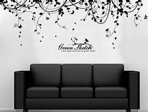Vine Vinyl Wall Decals - wallstickery com