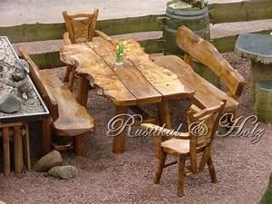 Rustikale Tische Aus Holz : isabel rustikal holz m bel aus massivholz gartenm bel terassenm bel holzm bel essecke ~ Indierocktalk.com Haus und Dekorationen