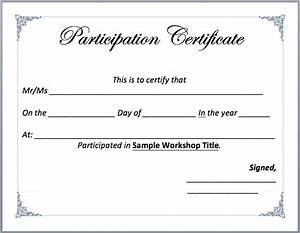 Workshop participation certificate template microsoft for Template for certificate of participation in workshop