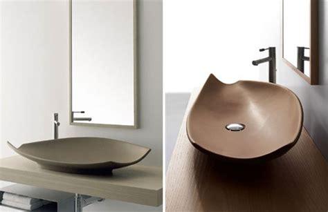 elegant colored wash basins kong  scarabeo digsdigs