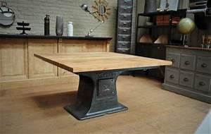 Table A Manger Industrielle : table a manger ~ Teatrodelosmanantiales.com Idées de Décoration