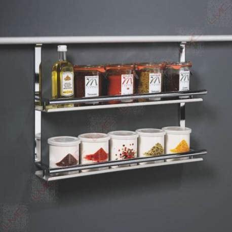 accessoire credence cuisine etagere barre de crédence pour ustensiles de