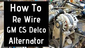 Diagram  3 Wire Delco Alternator Wiring Diagram Full