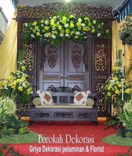 dekorasi pelaminan rias pengantin surabaya dekorasi