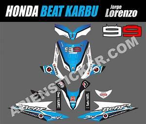 Striping Motor Beat Karbu Lorenzo