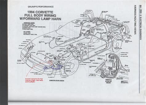 C4 Fuel Wire Diagram by 1992 Corvette Wiring Diagram Wiring Diagram