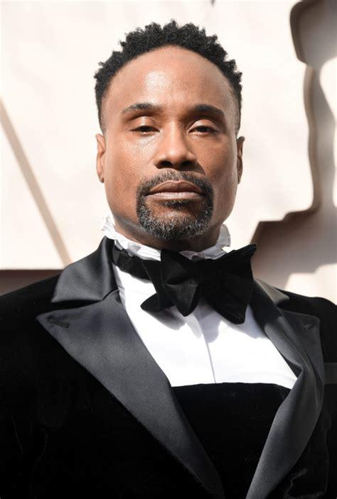 Billy Porter Slays Oscars Red Carpet With Tux Dress