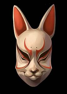 Kitsune Noh Mask by tiggytuppence on DeviantArt
