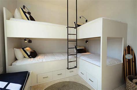 l for bedroom bunk bed ladder cottage boy s room alys