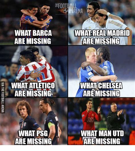 Barca Memes - what barca are missing what atletico are missing what psg are missing rena what real madrid a