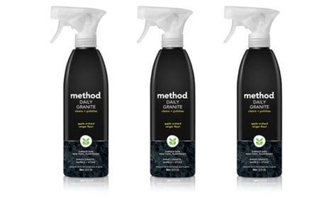 method daily granite and marble cleaner 3 pack groupon