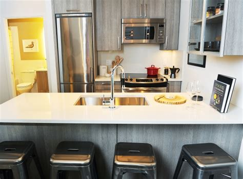 wood grain laminate kitchen cabinets the two bedroom show home has grey wood grain laminate 1939
