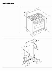 Kitchenaid Range Kdrp463l User Guide