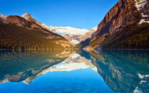Lake Louise Reflections, Hd Nature, 4k Wallpapers, Images, Backgrounds, Photos And Pictures