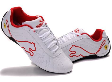 puma shoes pictures puma speed cat  shoe white red