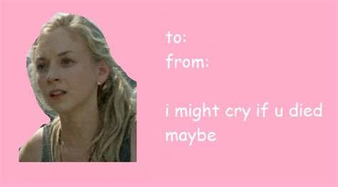Walking Dead Valentine Meme - 163 best images about valentine s day on pinterest valentines valentine day cards and daryl